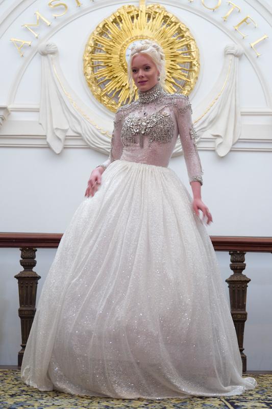 Haute Couture creatie van Nina Konstanti