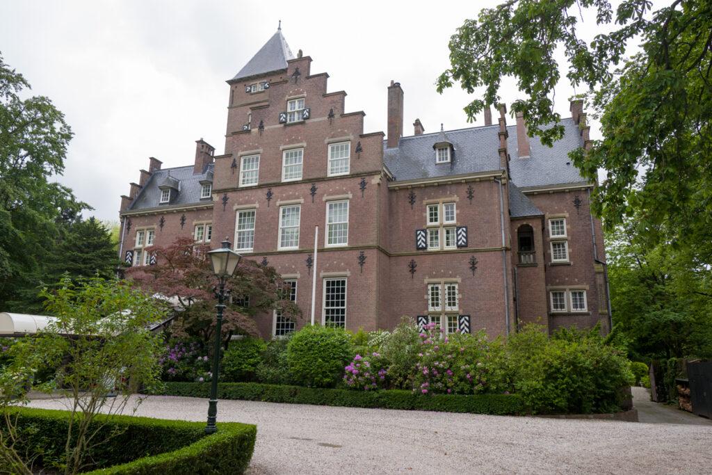 Kasteel de Wittenburg in Wassenaar.